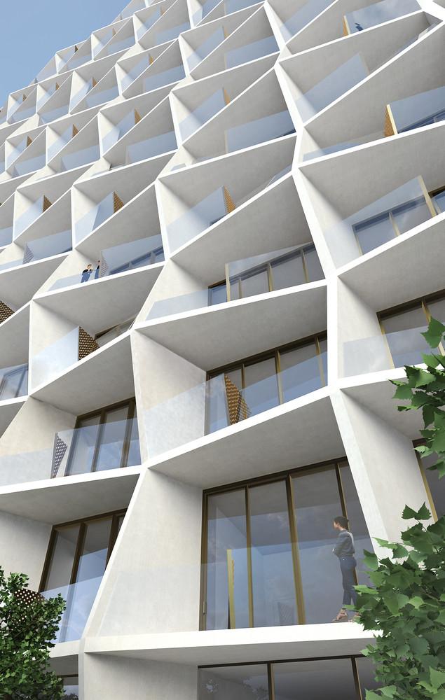 Design District Miami Apartments Impressive Gallery Of Miami Design District Tower  Studio Gang  4 Design Inspiration