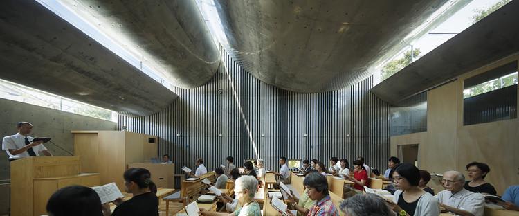 Iglesia Cristo Shonan / Takeshi Hosaka, © Koji Fujii / Nacasa&Partners Inc.