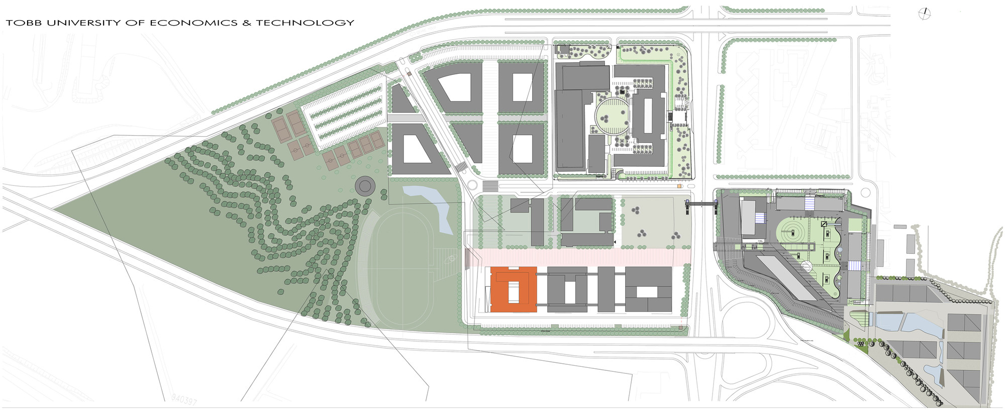 Gallery of tobb et technology center a architectural for Technology architecture design