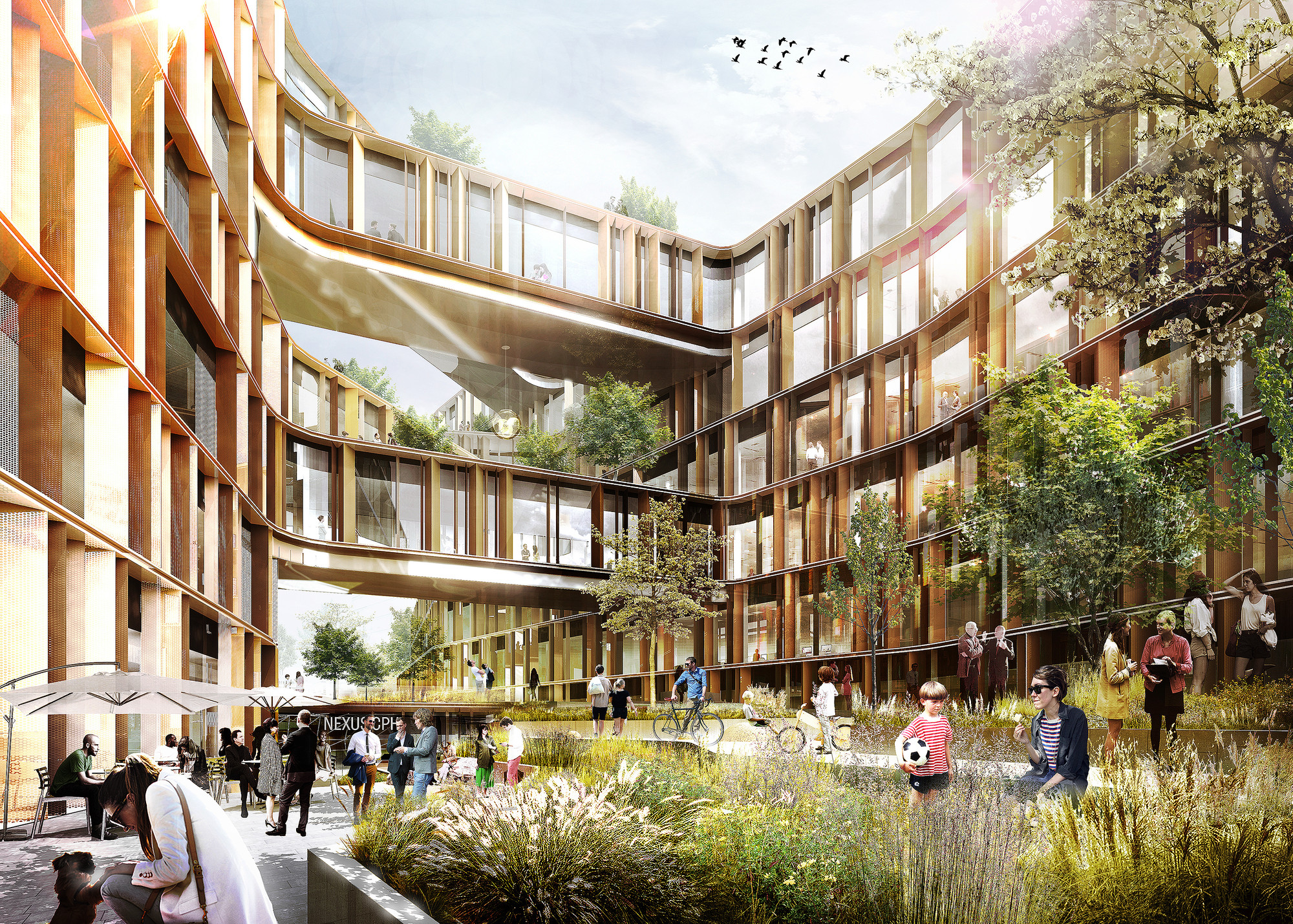 Arkitema Architects Selected to Design New Offices for Danish Government Agency, Courtesy of Arkitema Architects
