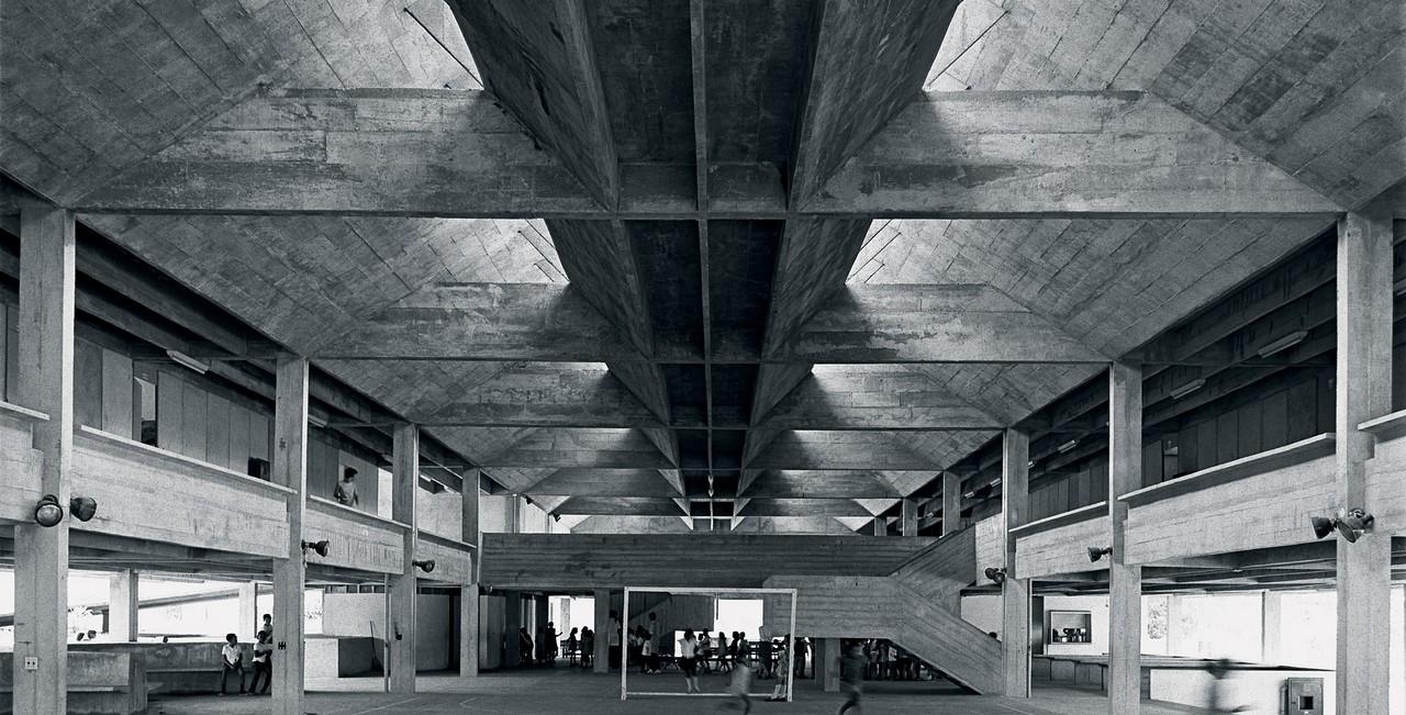 """""""In a class of its own"""": exposição sobre escolas de todo o mundo exibe projeto do arquiteto Decio Tozzi, Escola Jardim Ipê de Decio Tozzi, 1965. Image Cortesia de Decio Tozzi"""