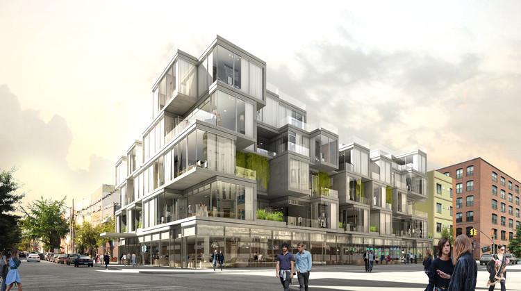 """ODA busca llevar las """"cualidades de la vivienda privada"""" a la vivienda colectiva en Brooklyn, Courtesy of ODA Architecture"""