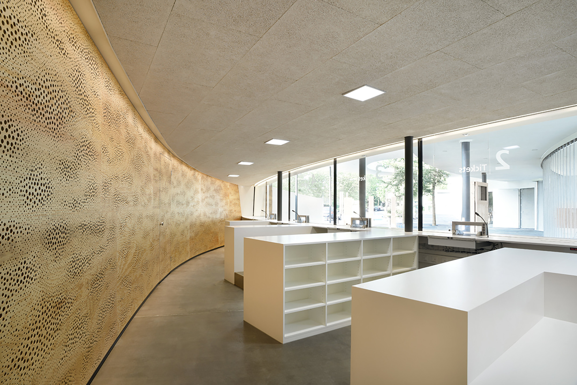 Foyer Architecture : Gallery of zurich zoo foyer renovation extension l p