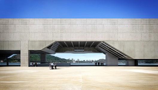 Cais das Artes. Image Courtesy of Paulo Mendes da Rocha