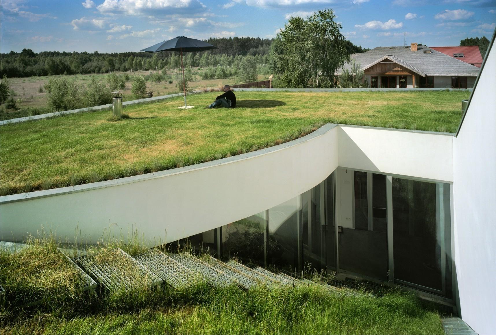 Archivo: Casas con Cubiertas Verdes, © Cortesía de Robert Konieczny KWK Promes