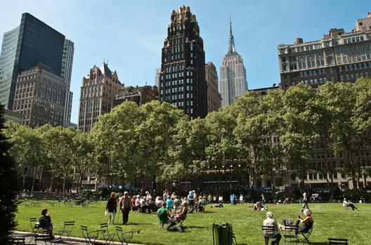 Parque Bryant em Nova Iorque. © cerfon, via Flickr