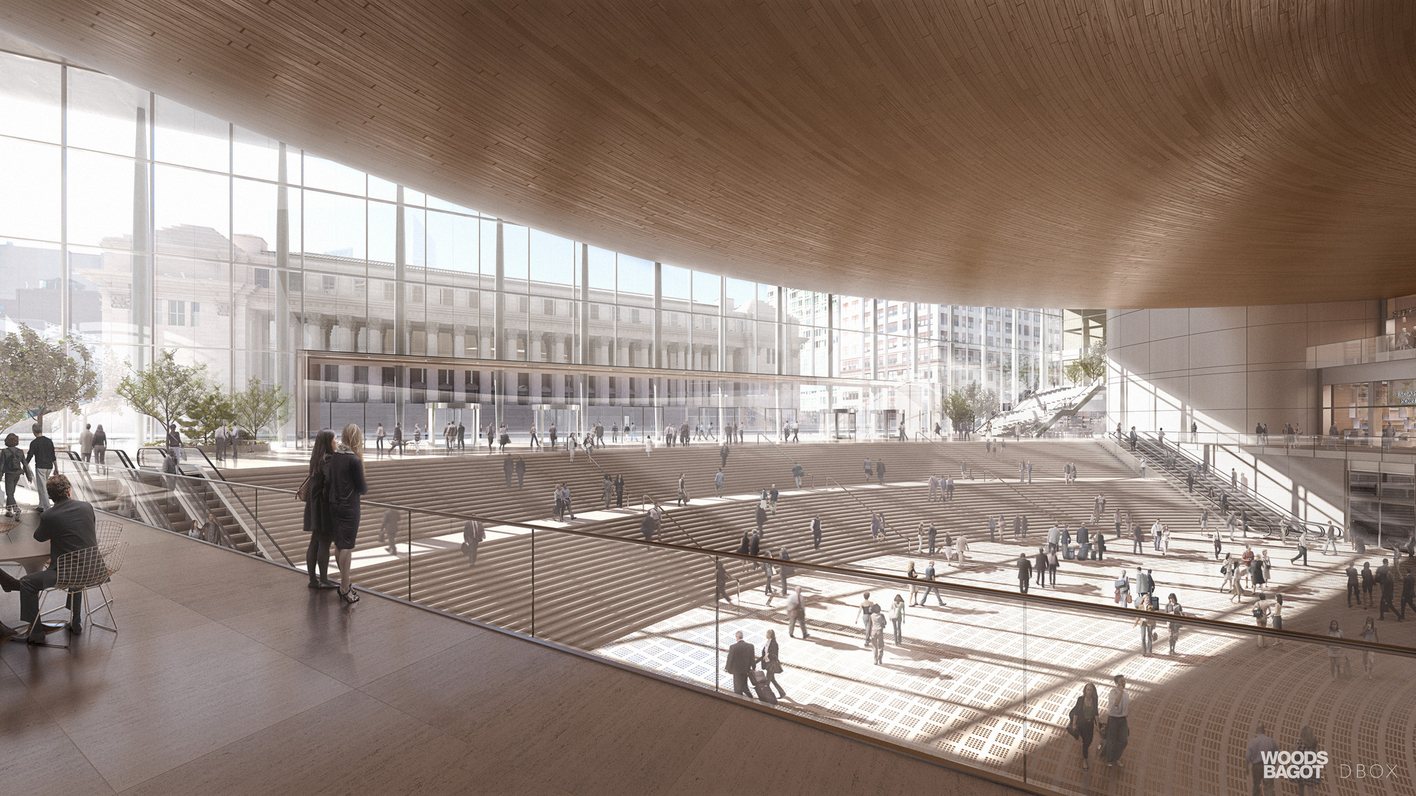 Gallery Of Woods Bagot S Alternative Penn Station Solution Would