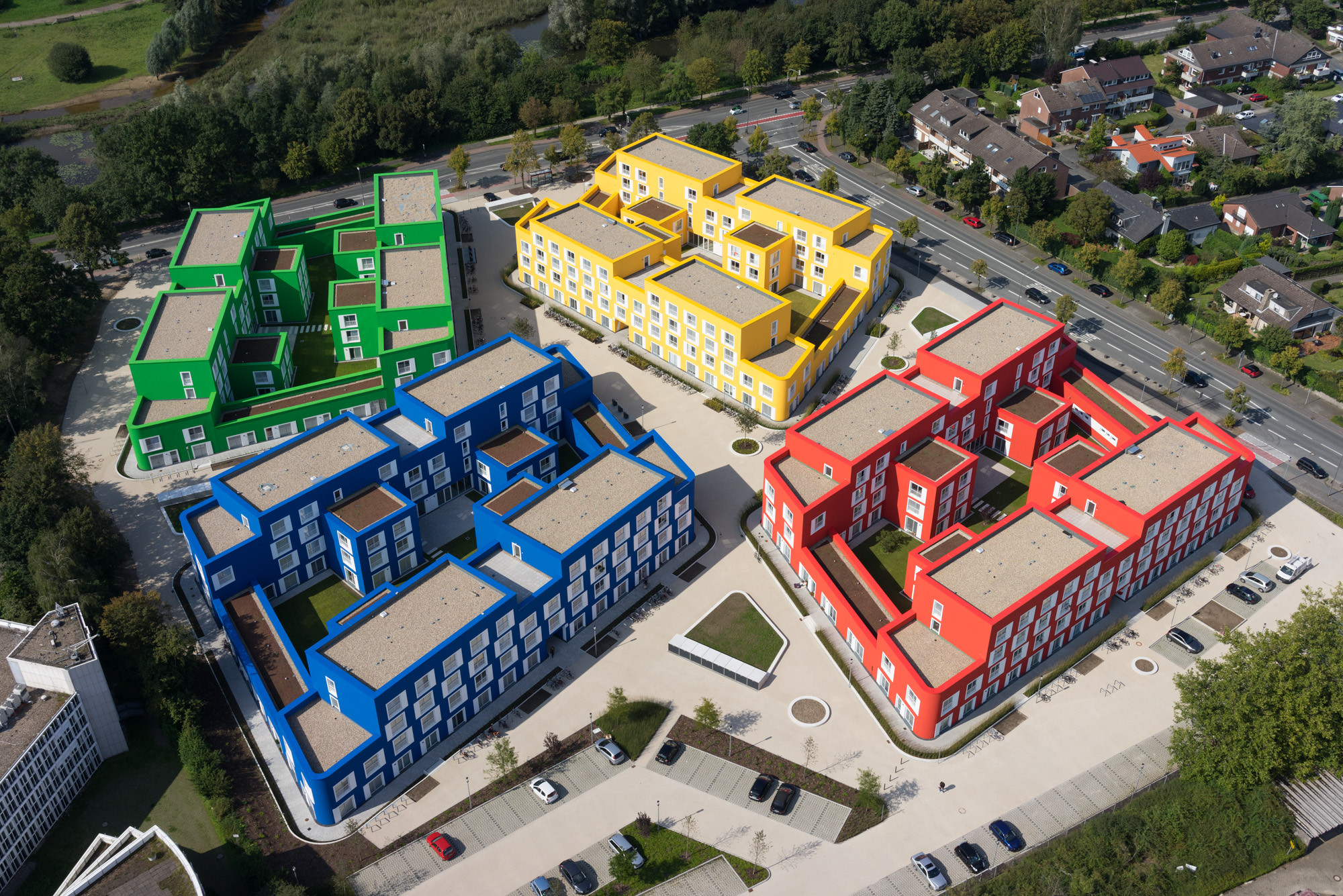 Boeselburg Council and Student Housing / Kresings GmbH, © HG Esch