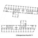Plano de la planta - segundo piso