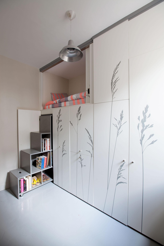 Gallery Of Tiny Apartment In Paris Kitoko Studio 11