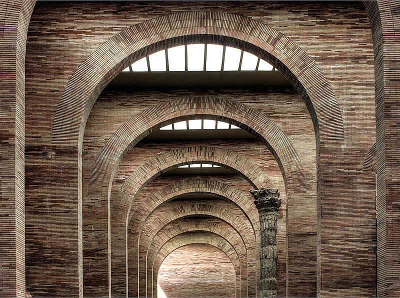 AD Classics National Museum Of Roman Art Rafael Moneo C Flickr User James