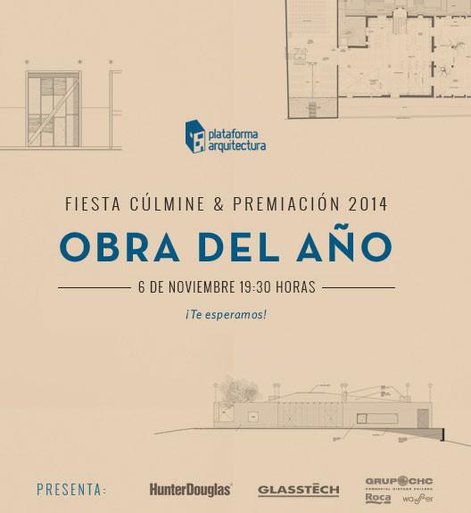 #ODA14: La Premiación Obra del Año 2014 ya tiene fecha!
