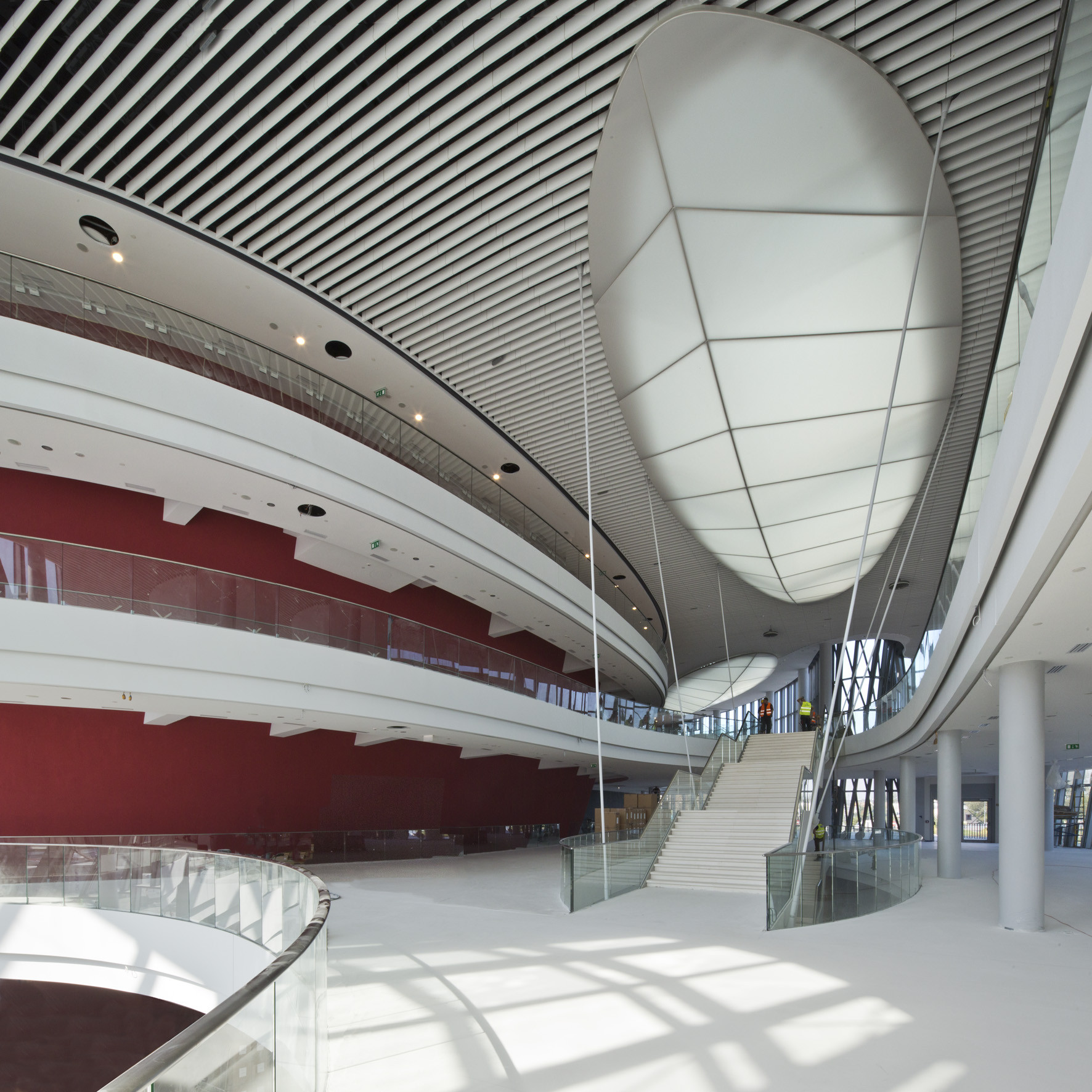 Ice Kraków Congress Centre / IEA + Arata Isozaki & Associates, Courtesy of Ingarden & Ewý Architects + Arata Isozaki & Associates