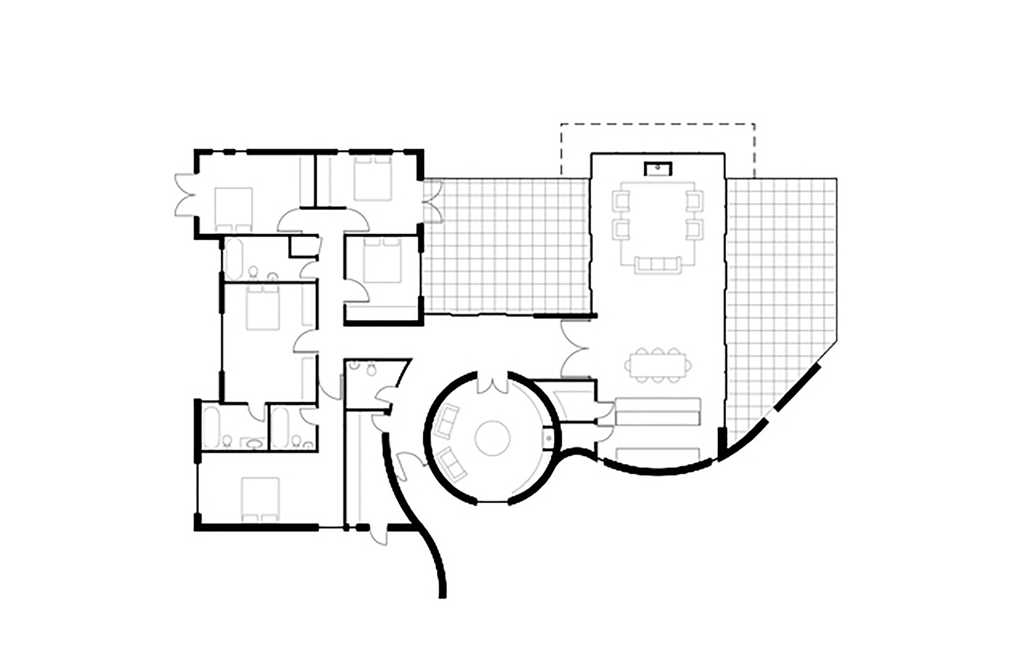 Sea glass housefloor plan