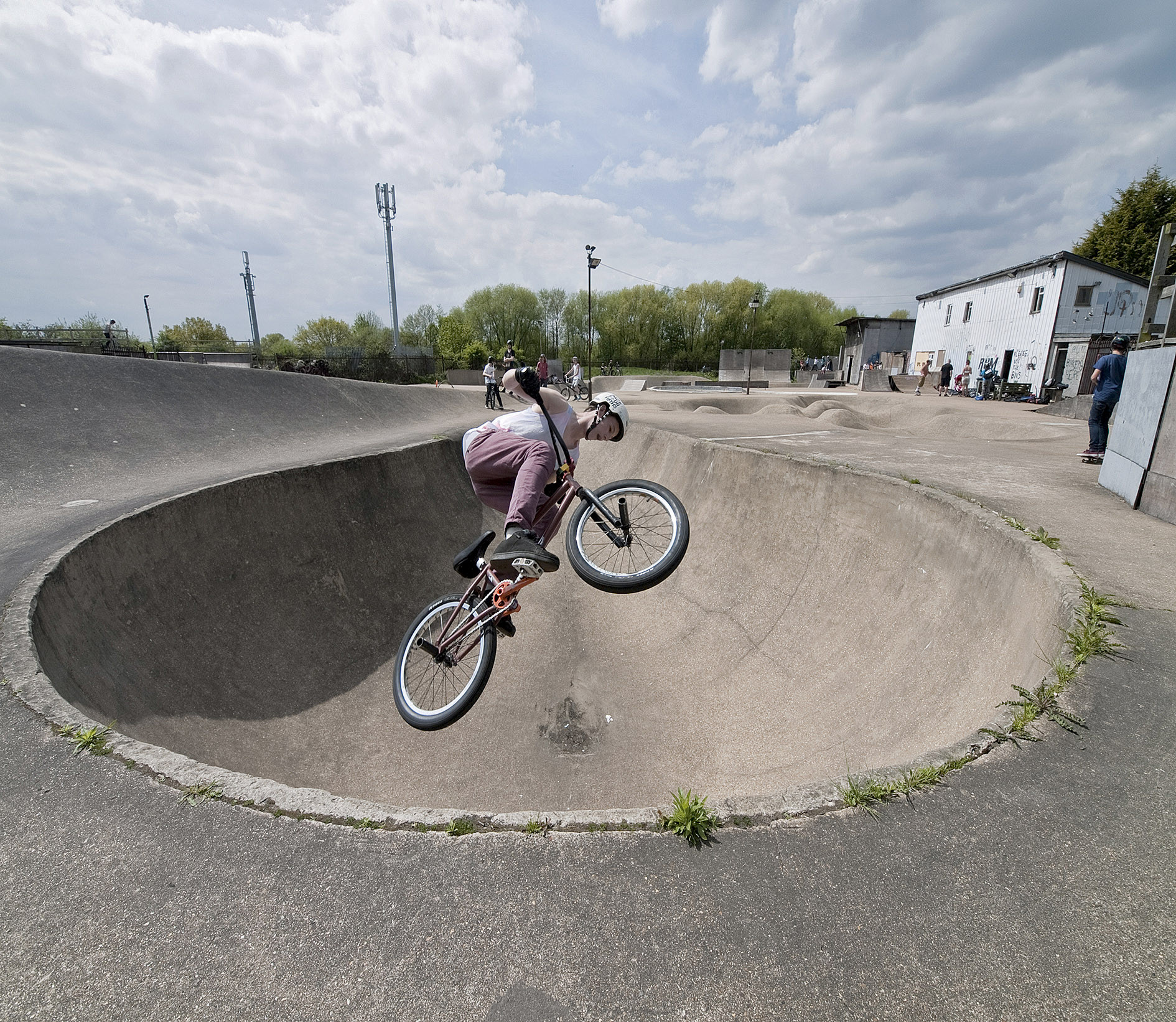 'The Rom' Becomes Europe's First Listed Skatepark, © Played in Britain