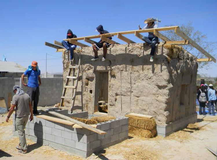 México: Prototipo de Vivienda Emergente, por Colectivo CHOPEkE, Cortesía de Colectivo CHOPEkE