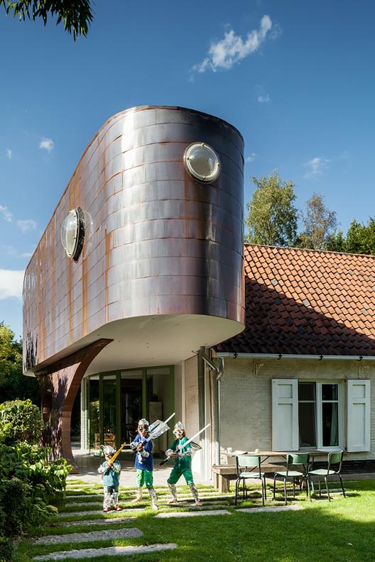 Piet & Sarah - Copper Extension / Atelier Vens Vanbelle, © Tim Van de Velde