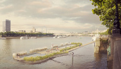 Studio Octopi Proposes Floating Swimming Pool in the Thames