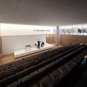 Vista do auditório. Image Cortesia de Cortesia de Equipe do projeto