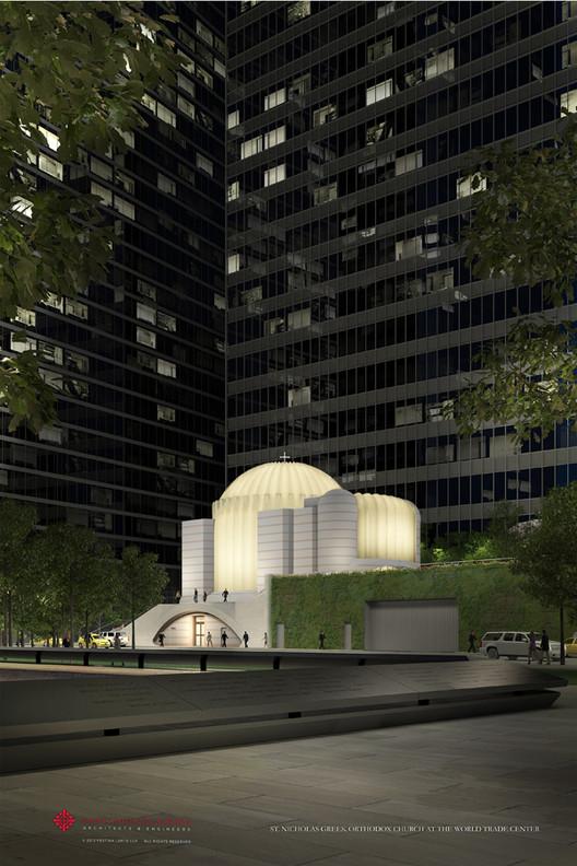 Iniciadas as obras da Igreja de Calatrava no Memorial do 11 de setembro, © Santiago Calatrava
