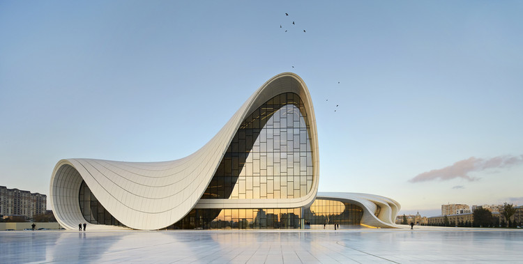 Spotlight zaha hadid heydar aliyev center image hufton crow