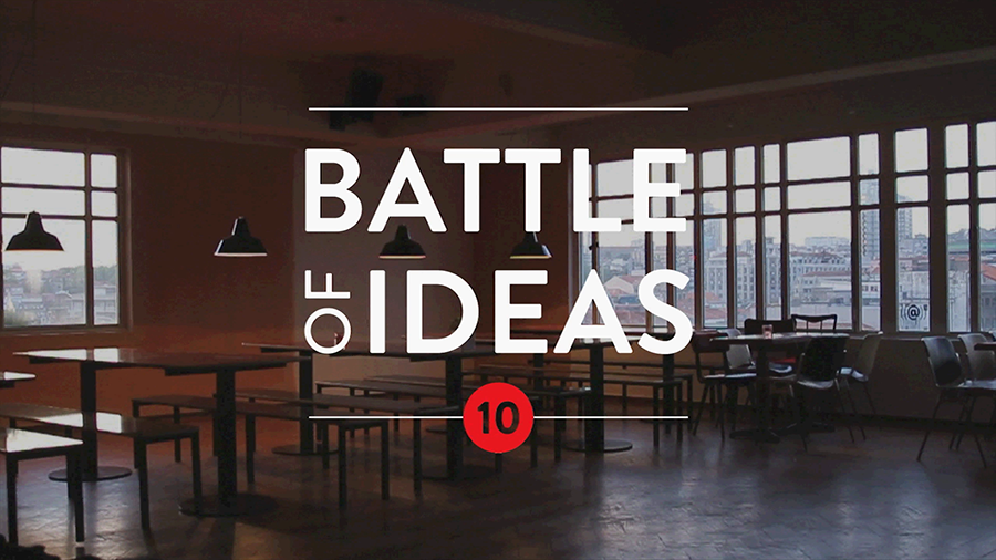 """Battle of Ideas: What is architecture for?"" no Porto, Cortesia de Dédalo"