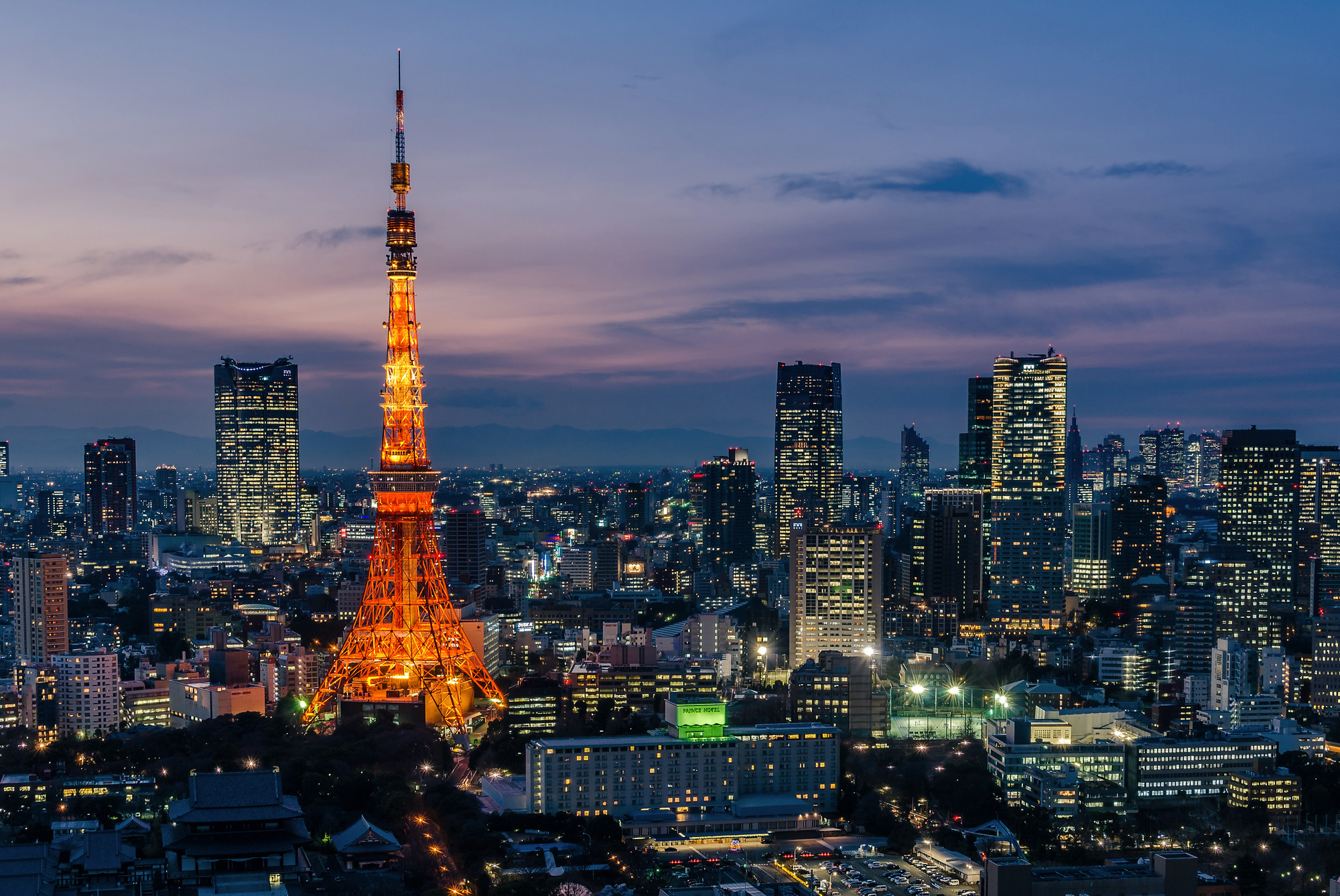 Towards a New Urbanism (Or Three), Tokyo. Image © Flickr CC User Les Taylor
