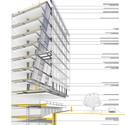 Corte esquemático. Image Cortesia de Equipe do projeto