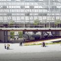Vista panorâmica do térreo. Image Cortesia de Equipe do projeto