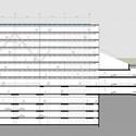 Corte longitudinal. Image Cortesia de Equipe do projeto