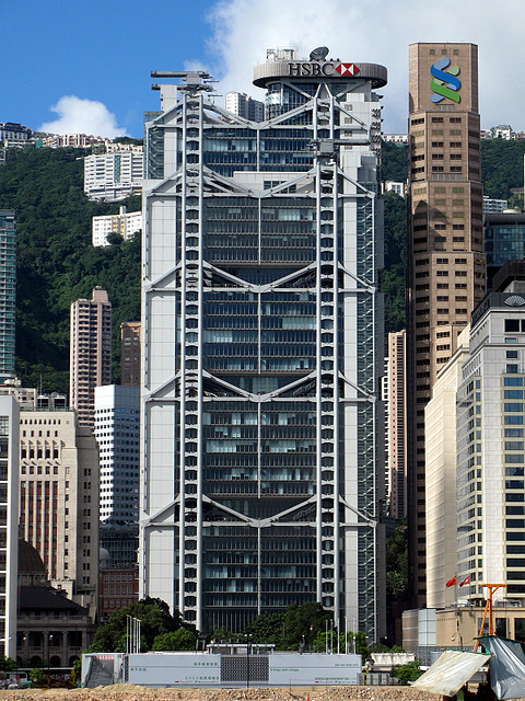 AD Classics: Hong Kong and Shanghai Bank / Foster + Partners. Image © Flickr CC User WiNG1990