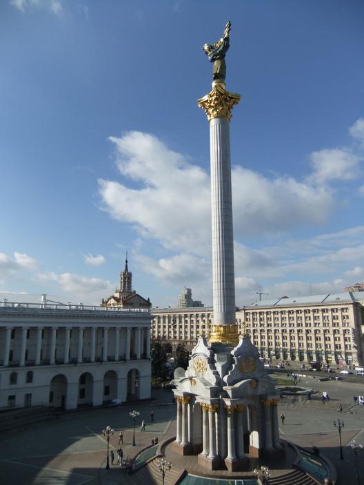 Kyiv's Maidan Nezalezhnosti. Image © Flickr CC User Peter Collins