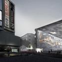 Primeiro Lugar: Urban Interface / Arch. Michelangelo Vallicelli, Lorenzo Sant'Andrea, Nicolò Troianiello (Rome, Italy). Cortesia de Ctrl+Space Architectural Competitions