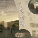 Segundo Lugar: LACORRALA / Arch. Vicente Hernandez Vaquero, Silvia Rodriguez Iglesias (Coruña, Spain). Cortesia de Ctrl+Space Architectural Competitions
