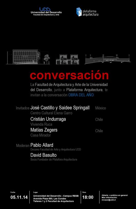 #ODA14: Conversación Ganadores Obra de Año