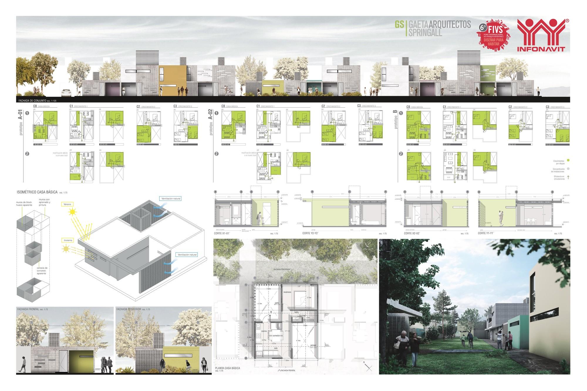 Galer a de vivienda unifamiliar regional 32 entidades for Ideas para reformar una vivienda