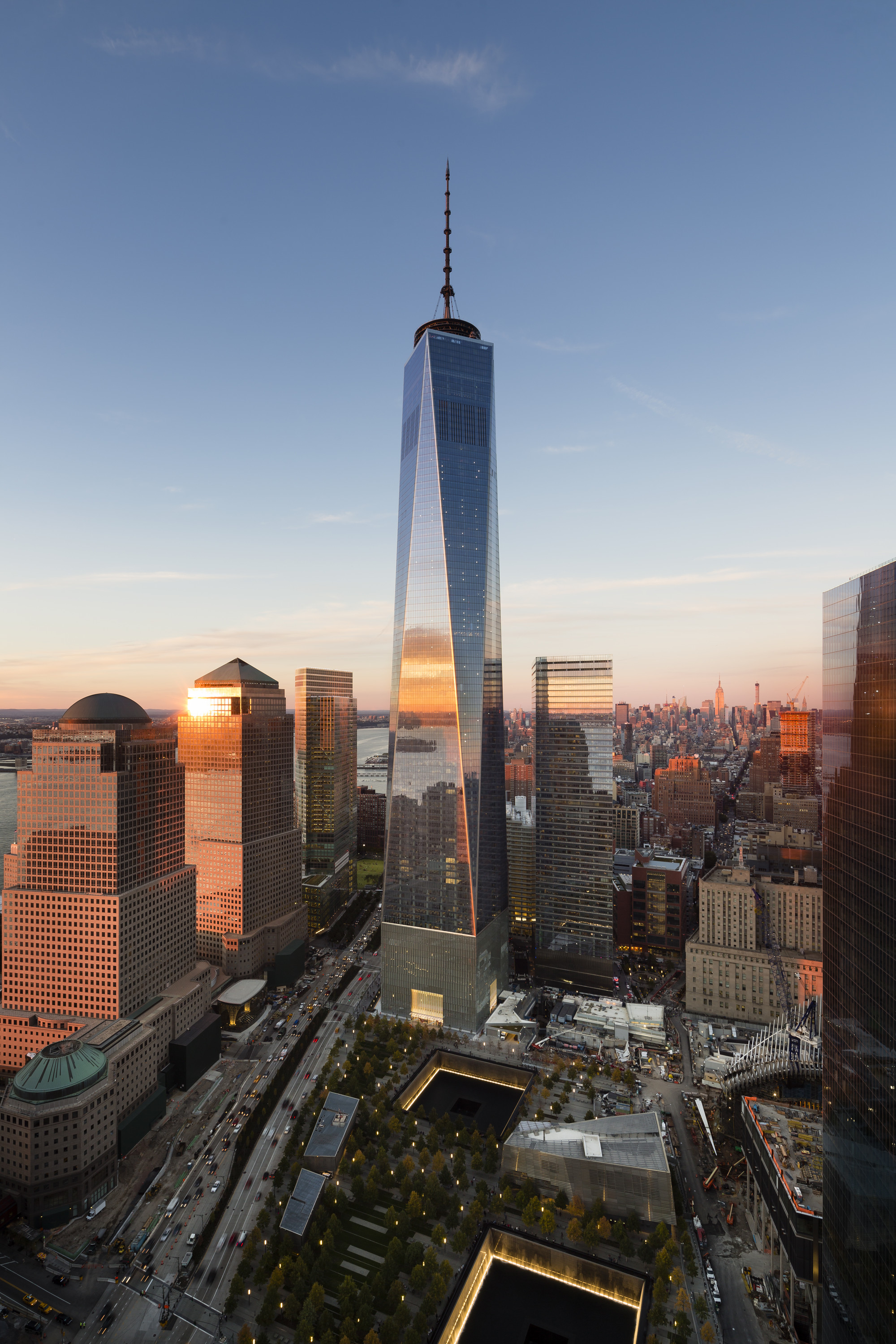 Gallery Of Images Of Som S Completed One World Trade Center In New