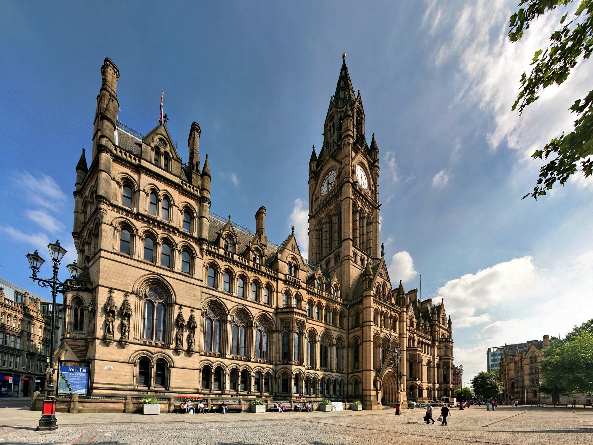 Does Devolution Hold The Key To Greater Investment In The Built Environment?, Manchester Town Hall (Alfred Waterhouse)