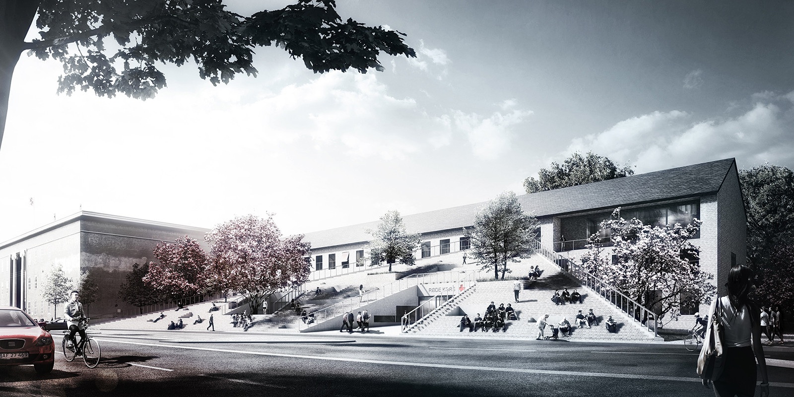 COBE Unveils Design for Danish Red Cross Volunteer House , © COBE