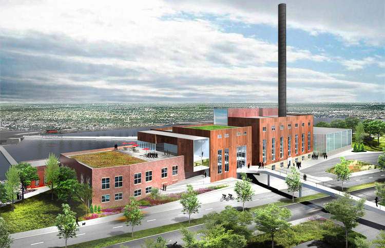 Beloit College Power Plant / Studio Gang, Courtesy of Studio Gang Architects