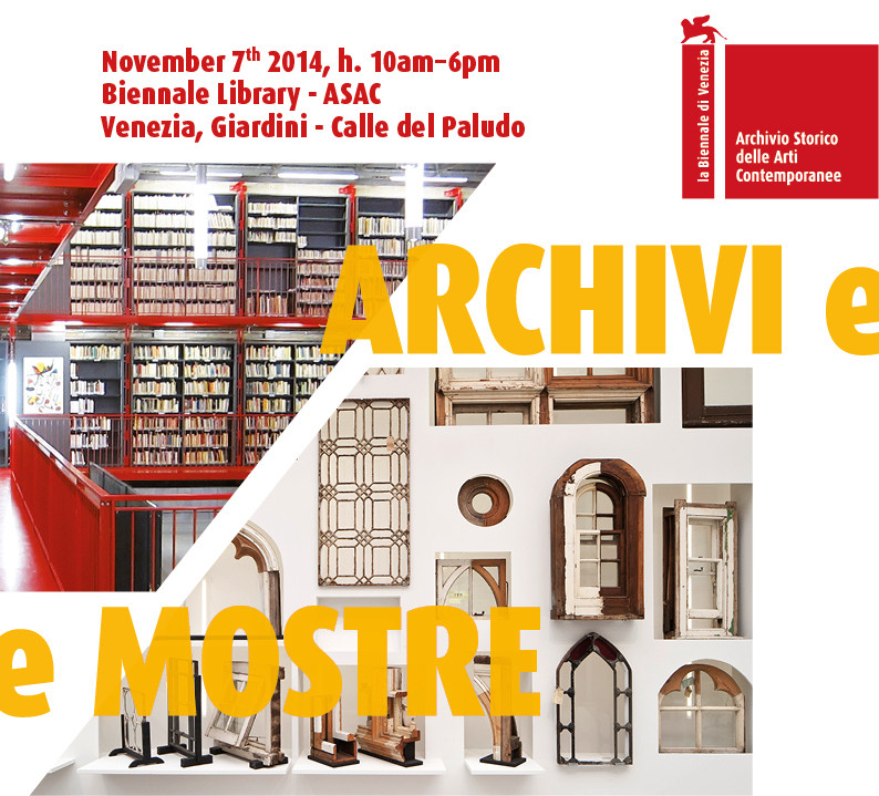 "Venice Biennale Hosts Third Annual ""Archives and Exhibitions"" Livestream Conference , Courtesy of La Biennale di Venezia"