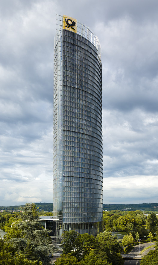 Deutsche Post Towers Wins CTBUH 10 Year Award , © Jahn