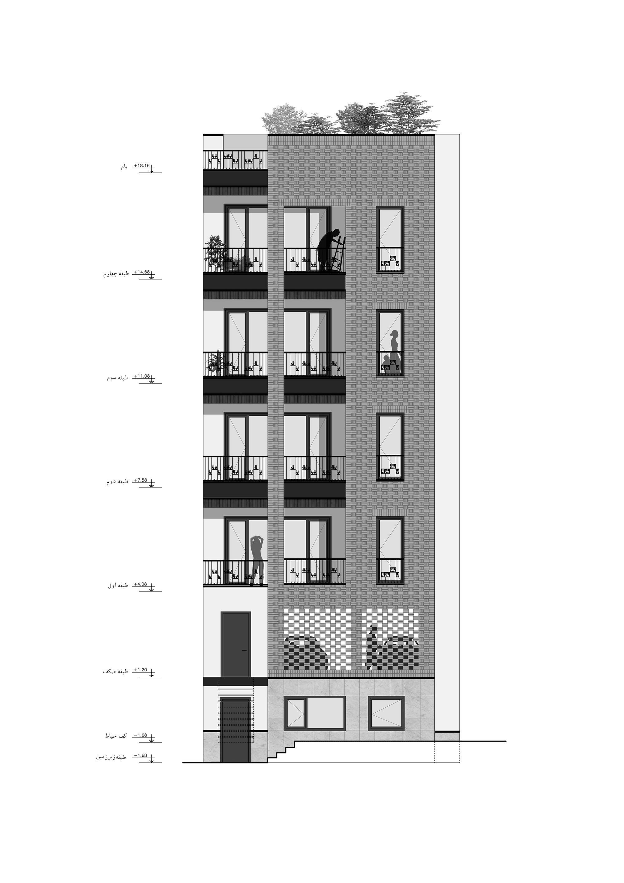 Gallery of Haghighi Residential Building Boozhgan Architec