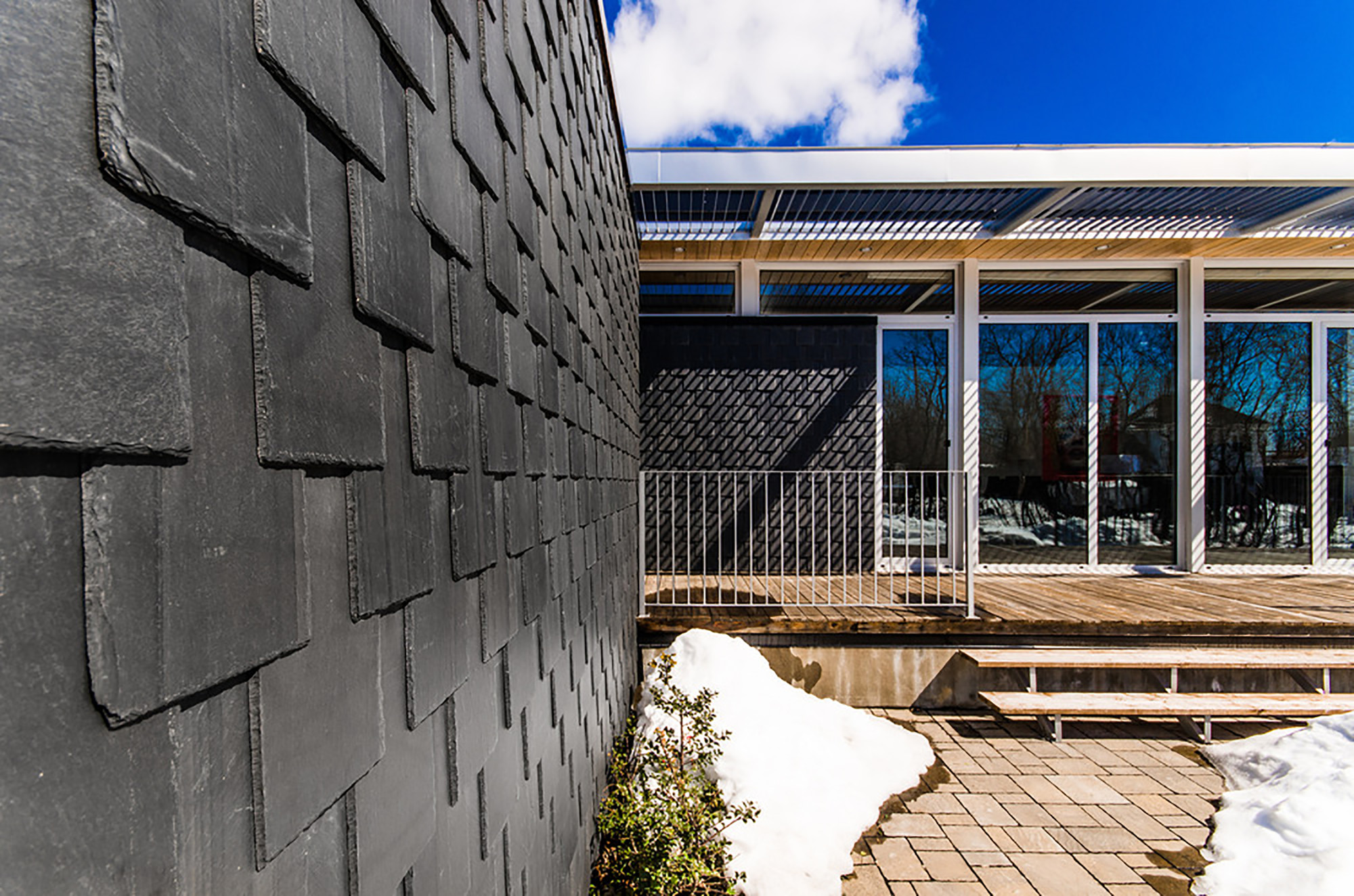 Slate House Affleck De La Riva Architects Archdaily