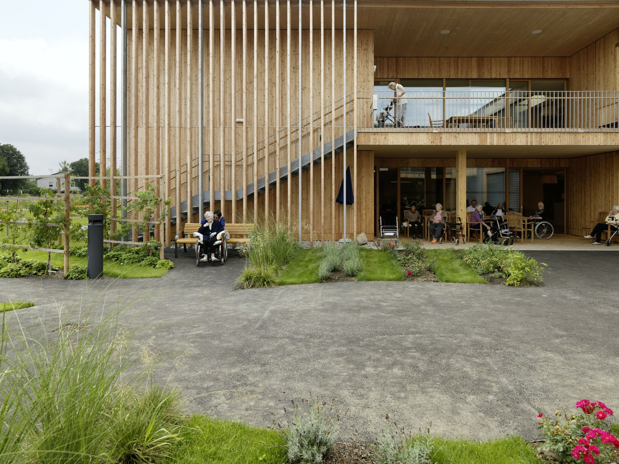 House Architecture Software Peter Rosegger Nursing Home Dietger Wissounig