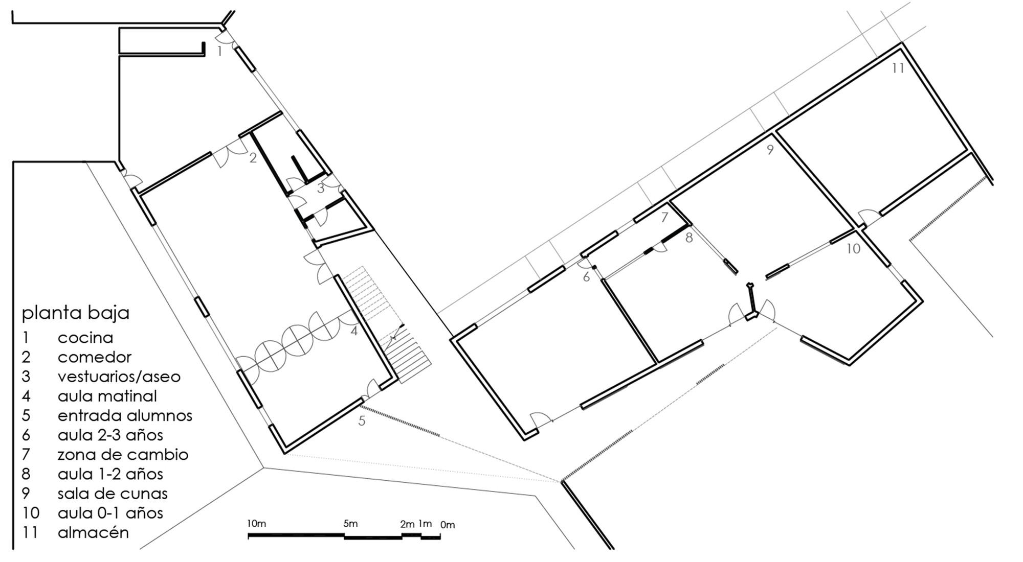 Extremamente Galeria de Centro de Educação Infantil Bambi / Plan9 - 20 LO68