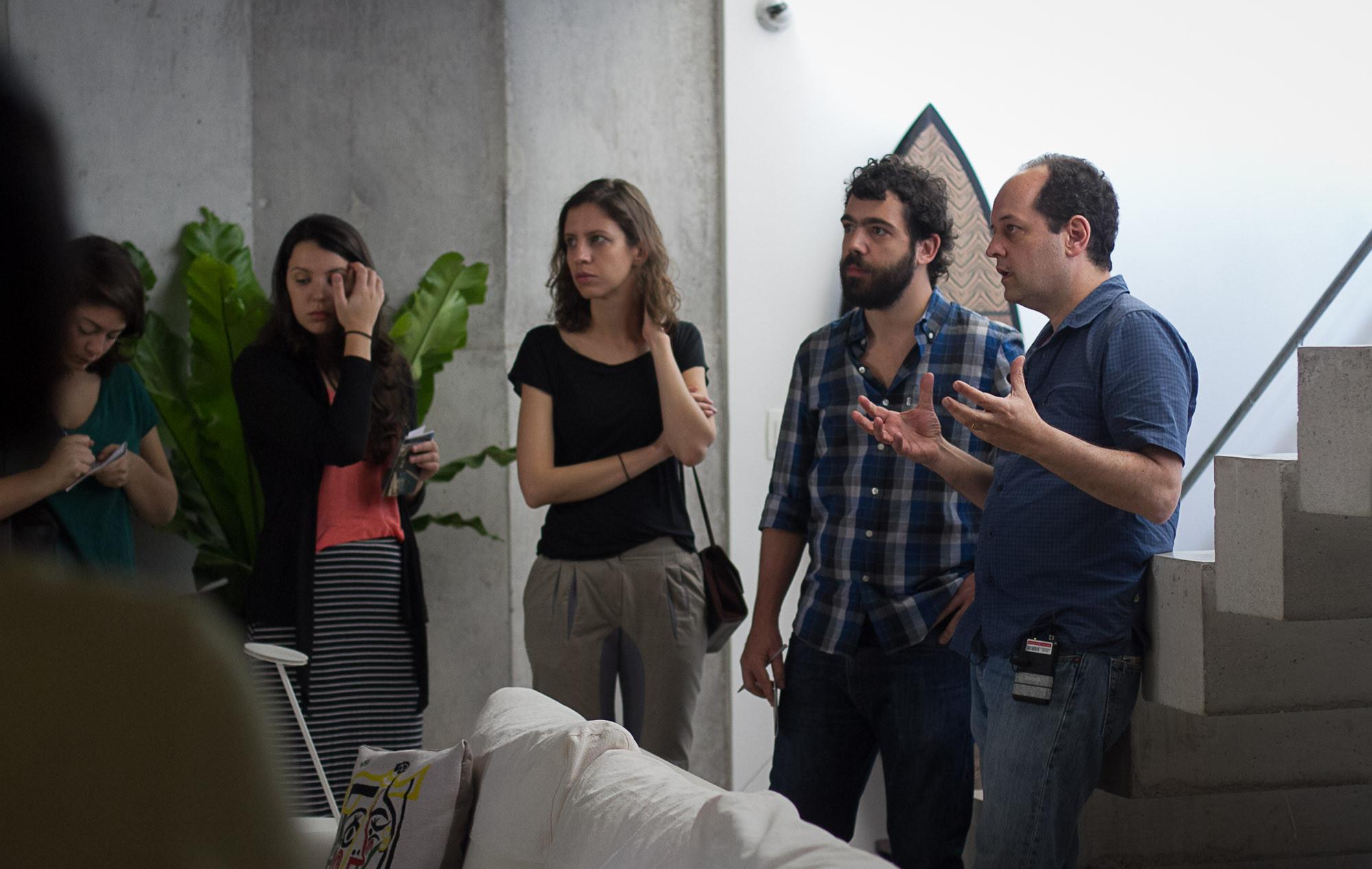 Conversa com Angelo Bucci sobre a Casa de Fim de Semana, © Ana Campos, Helena Caixeta e Pedro Norberto