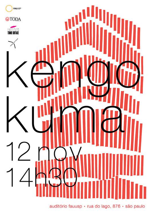Palestra com Kengo Kuma em São Paulo