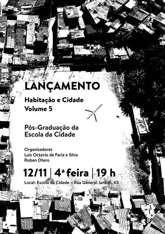 Escola da Cidade lança 5º volume de livro sobre habitação e cidade, Cortesia de Escola da Cidade