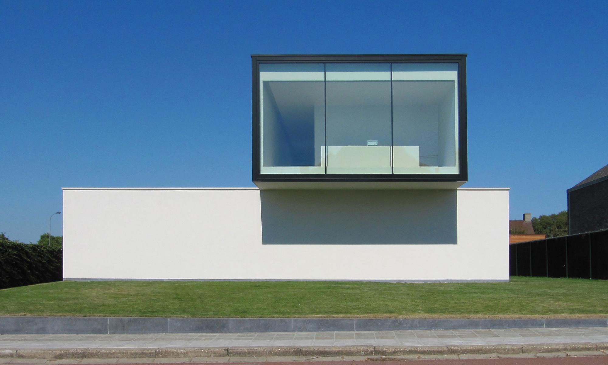 House VRT – Tielt / DE JAEGHERE Architectuuratelier, Courtesy of Steven De Jaeghere